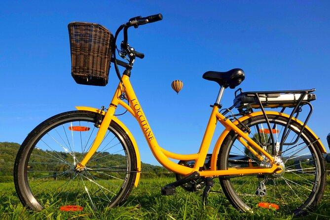 E-bike e passeio de balão