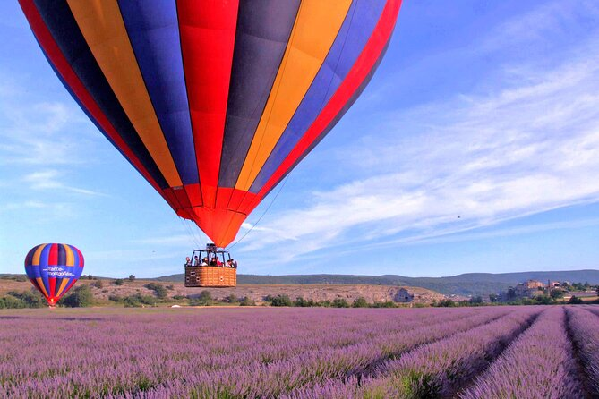 Provence Hot-Air Balloon Ride from Forcalquier