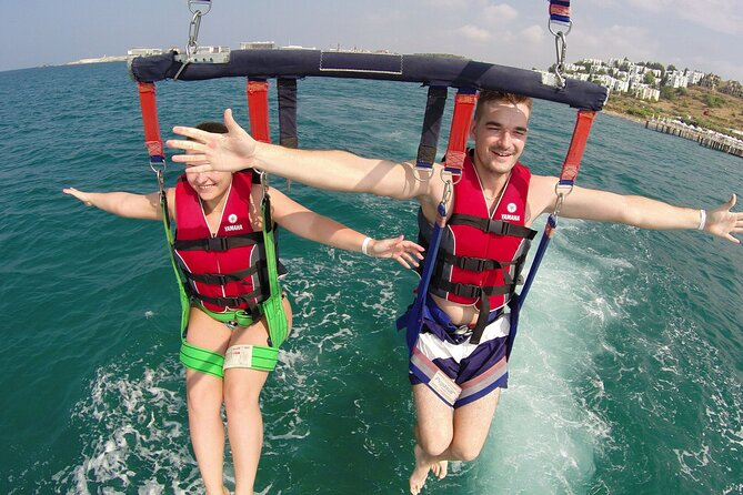 Punta Cana Sky-High Adventure: Parasailing Tour by Speed Boat