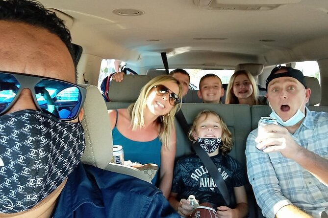 One Way PRIVATE TRANSFER Up To 7 Passengers From Cabo Airport To Any Resort