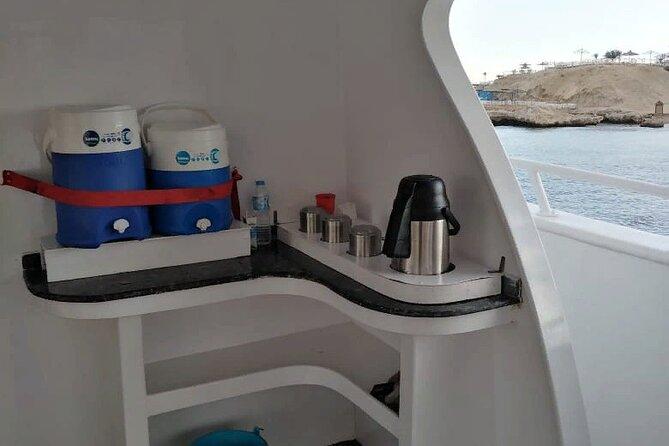 VIP Dolphin House Sea Trip and Banana Boat Fun from Hurghada