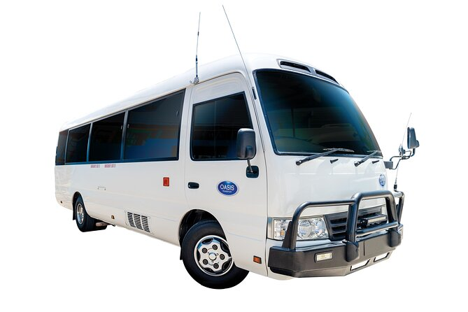 Corporate Bus, Private Transfer, Cairns Airport - Trinity Beach.