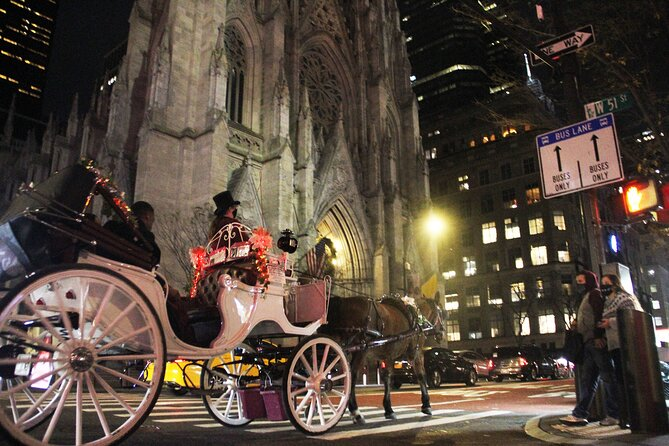 Magical Evening Horse-Drawn Carriage through NYC (55 min)