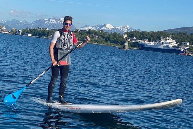 Introduction to Stand up Paddle. Brosundet, Ålesund