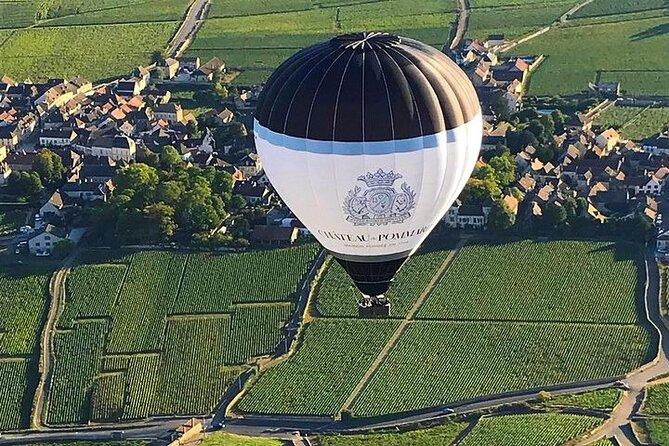 Wine tasting & Balloon Ride from Chateau de Pommard