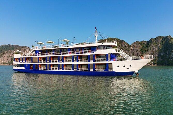 Lan Ha bay luxury cruise 2D/1N: Kayaking, jumping & Swimming at pristine places