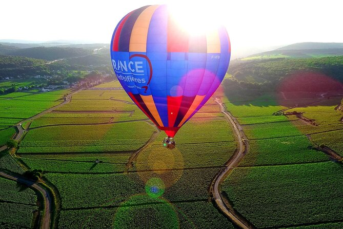 Burgundy Hot-Air Balloon Ride from Beaune