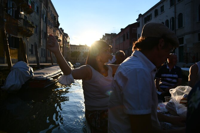 Sunset Grand Canal boat tour in Venice
