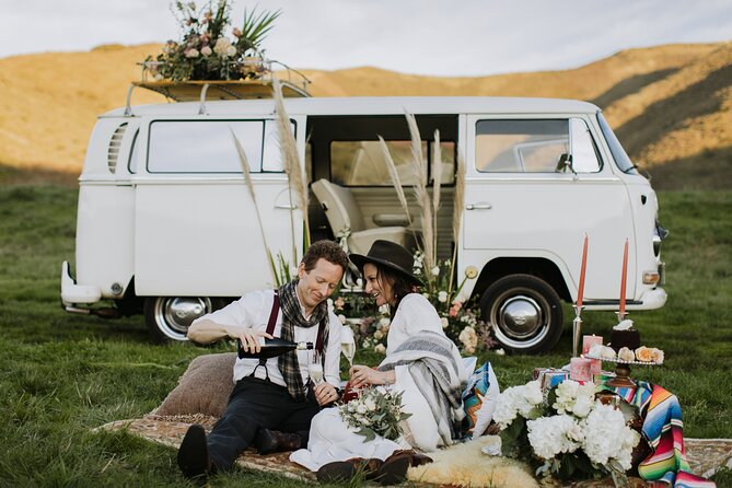 Wedding Ceremony and San Francisco Photography Tour on VW Bus