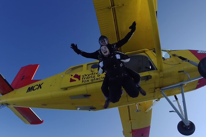 Tandem Skydive 16,500ft from Franz Josef