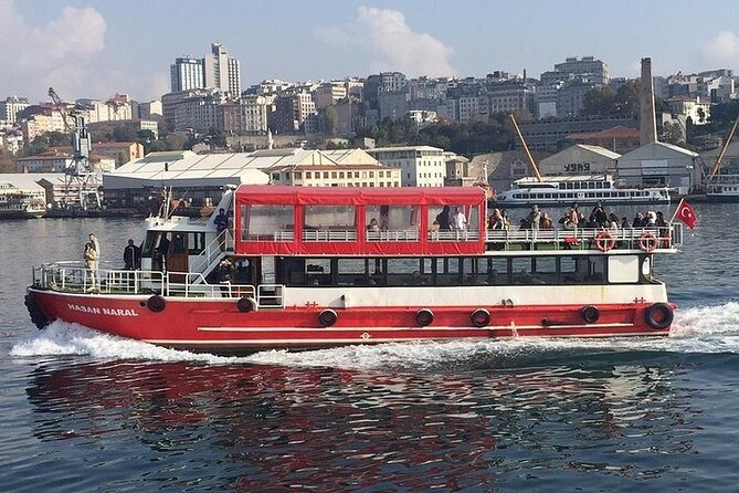Bosphorus Cruise Boat Tour İstanbul 3 Hours Tour With 1 Hour Stop in Asia Side