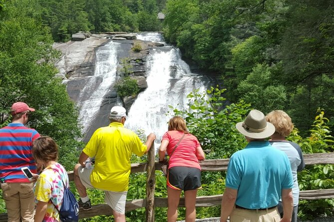 Blue Ridge Parkway Waterfalls Hiking Tour with Transportation from Asheville