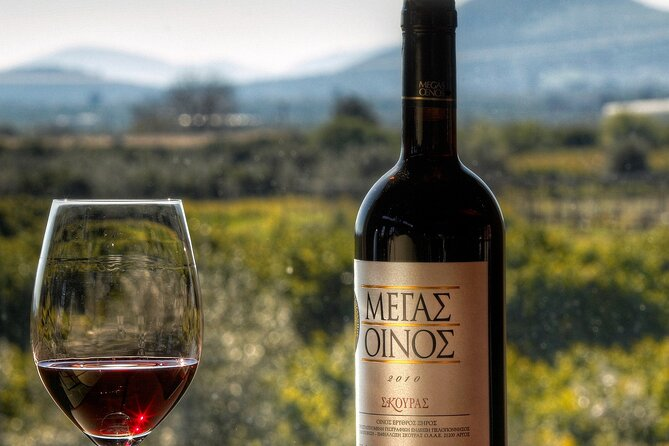 Exclusive Estate tour at a Greek winery and Wine Tasting