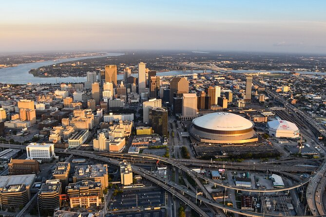 New Orleans Helicopter City Tour
