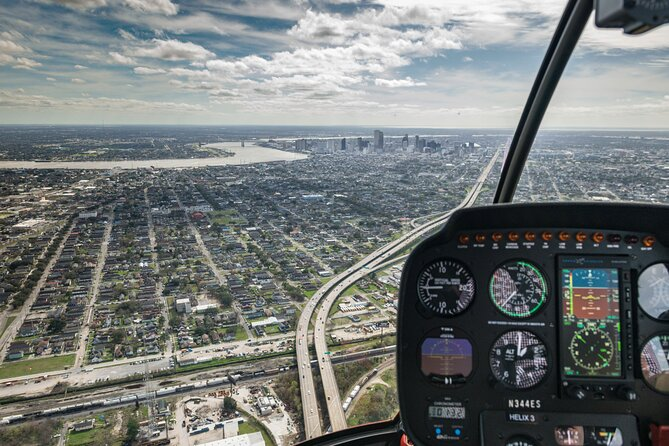 New Orleans Ultimate One-Hour Helicopter Tour