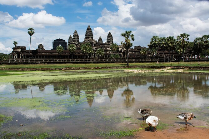 Hop-On Hop-Off Sunrise at Angkor Wat, Bayon, Ta Prohm Temple