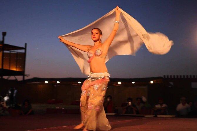 Red Dunes Desert Safari ,Tanura Show, Fire Show ,Belly Dance & BBQ Dinner