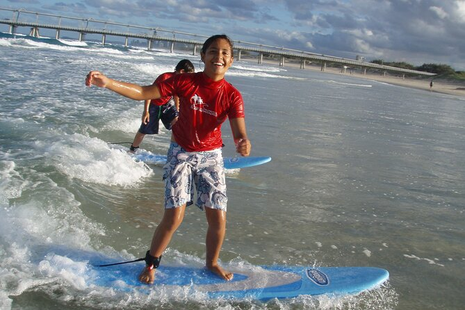 Group Surf Lesson Surfers Paradise Gold Coast