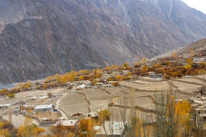 Hussaini village during autumn season