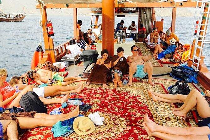 Khasab Dhow cruise-Half day-Mezza Giornata