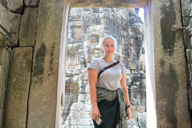 Excursão privada a pé pelos templos de Angkor a partir de Siem Reap