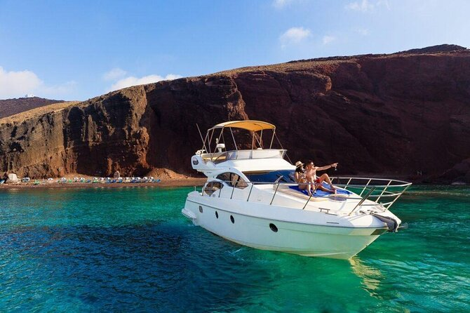 Private Motor Yacht Cruise in Santorini