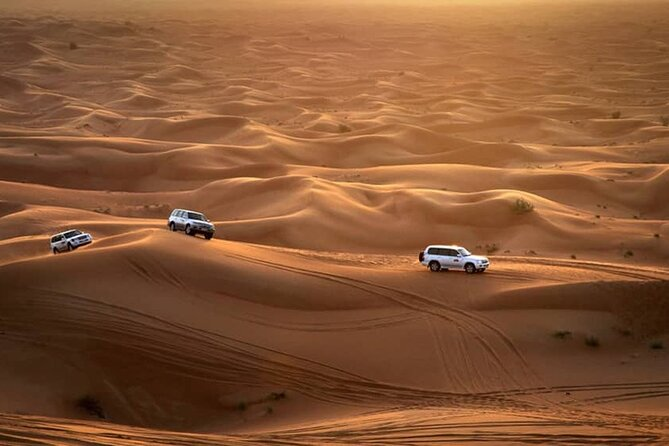 Dubai Morning Red Dune Desert Safari