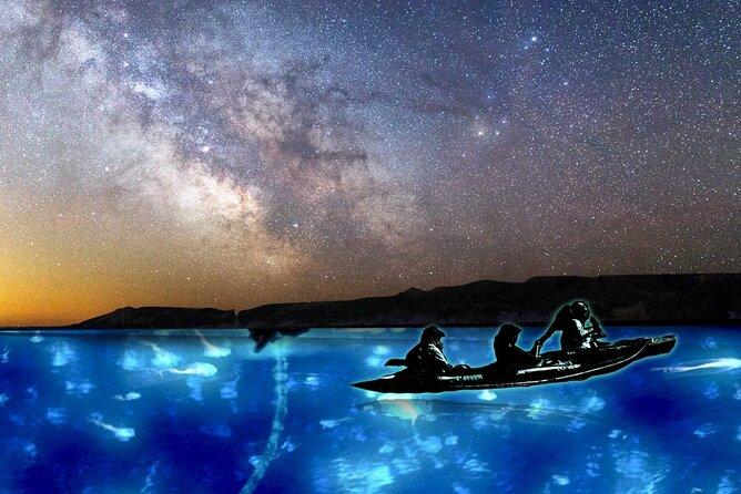 Bioluminescence Night kayak Isla Holbox
