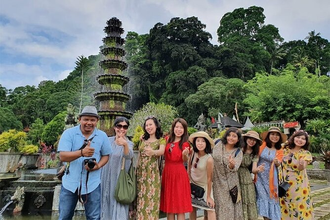 Bali Heaven Gate, Tirta Gangga & Tukad Cepung Waterfall Tour