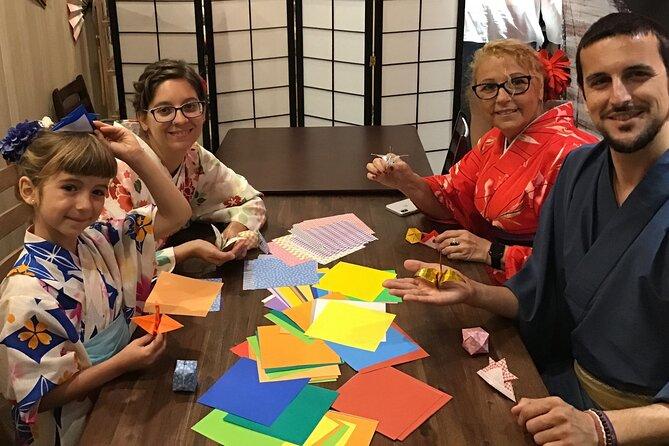 Japanese Origami (Paper Folding) Workshop Kyoto MAIKOYA