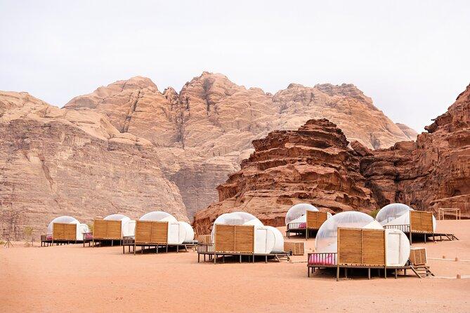 Privato Lawrence d'Arabia Wadi Rum Pernottamento esperienza beduina da Aqaba