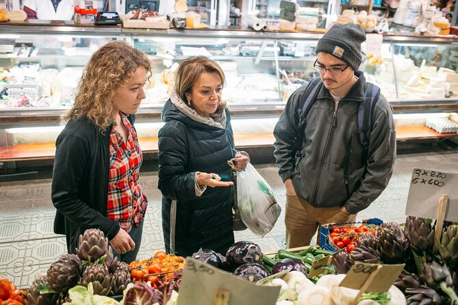 Name your recipe: food market tour and workshop with a Cesarina in Parma