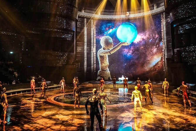 La Perle by Dragone Ticket with a roundtrip transfer from Dubai