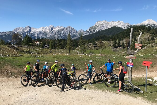 E-bike tour Velika Planina