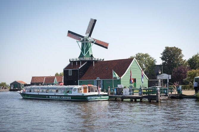 Guided Windmill Cruise in Zaanse Schans