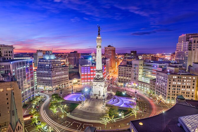 Private Smartphone-Guided Walking Tour of Downtown Indianapolis