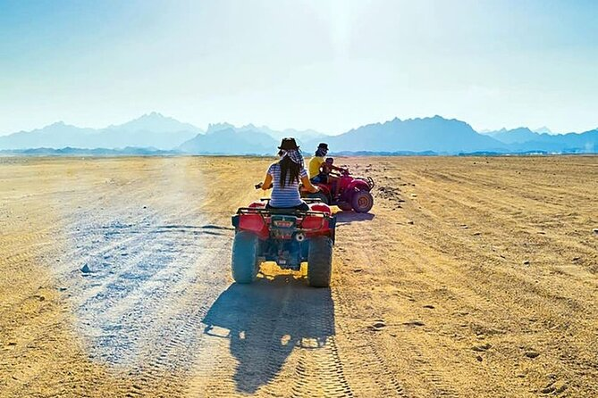Sea Trip & Desert ATV Parasailing Twister Boat With Private transport-Hurghada