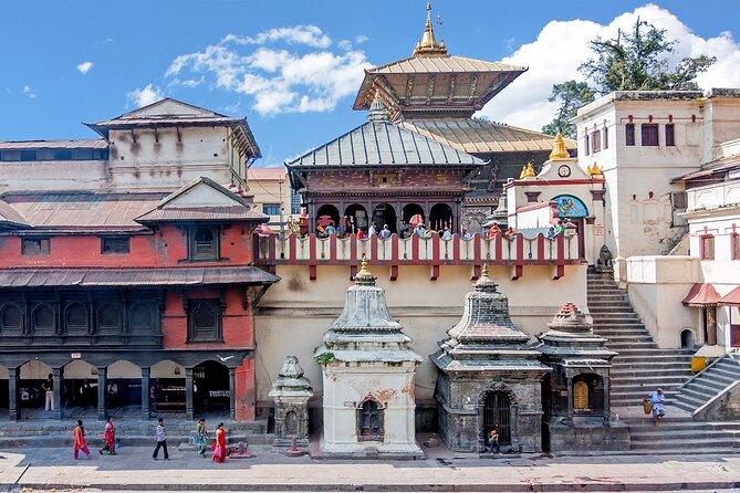 Day Trip to Bhaktapur Durbar Square, Temples of Pashupatinath & Changu Narayan