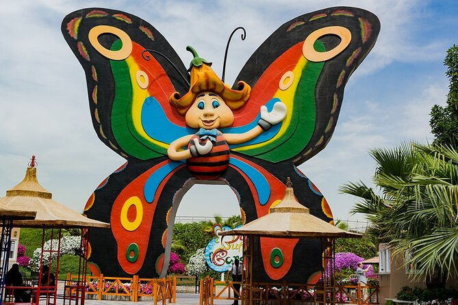 Dubai Butterfly Garden with One-Way Transfer from Dubai
