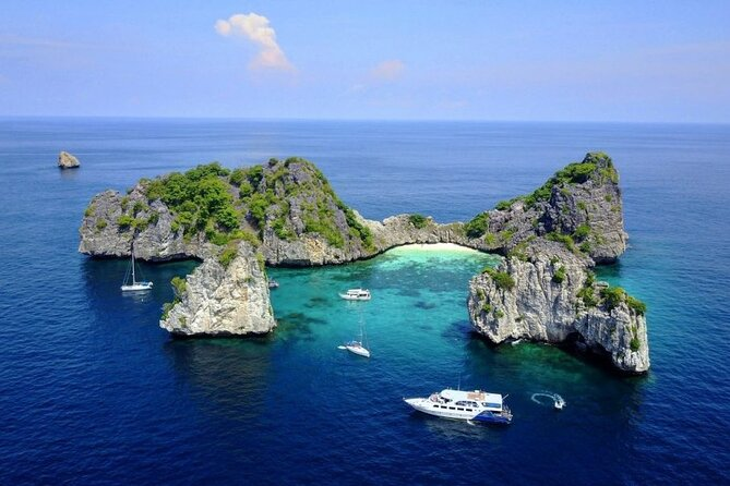 Koh Rok & Koh Haa Day Trip By Speed Boat from Phuket