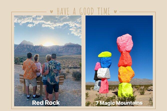 Small Group Red Rock Canyon Sunset Tour Optional 7 Magic Mountains