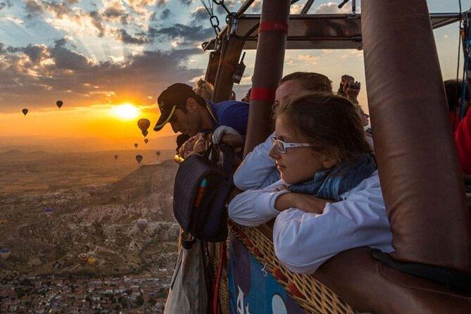 Hot Air Balloon Ride in Cappadocia (morning flight)