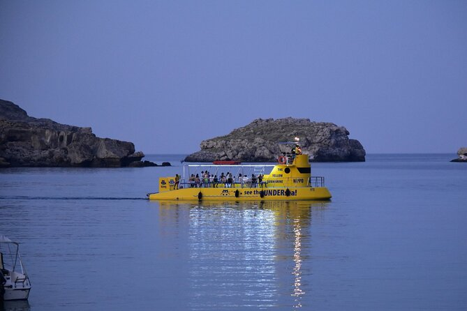 Lindos Private Submarine Tour with Swimming Stop at Navarone Bay