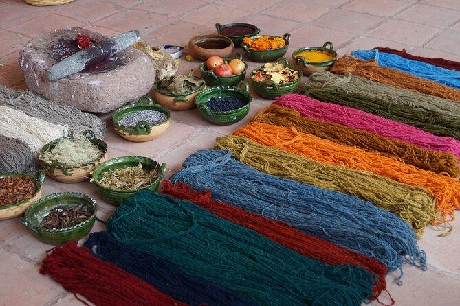 Teotitlán rugs-Velas / Mezcal / Cuevas (Wednesday to Sunday Mitla) pick up 8:00 am