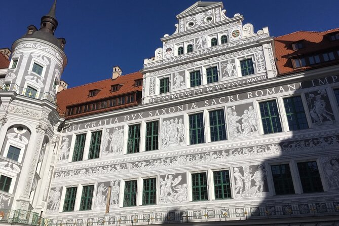 Guided tour of the castle with an introduction to architecture and the Dresden stable yard