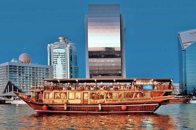 Dubai Creek Cruise Dinner with Transfer
