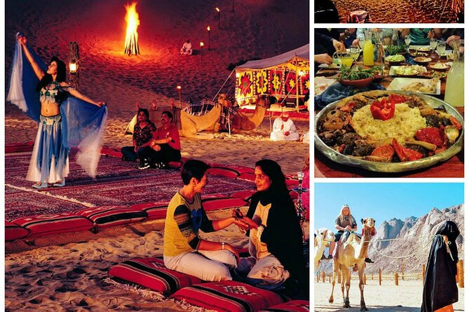 Do Overnight Desert Experience with safari and BBQ Dinner ( The best to choose )