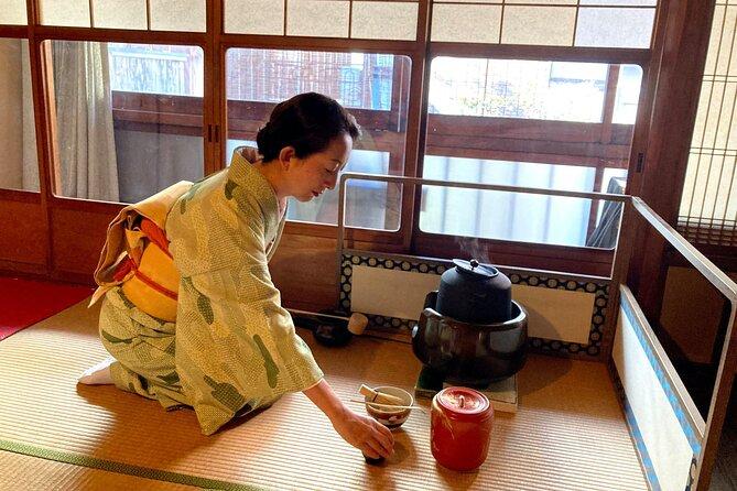 Tea Ceremony in Kimono with licenced teacher