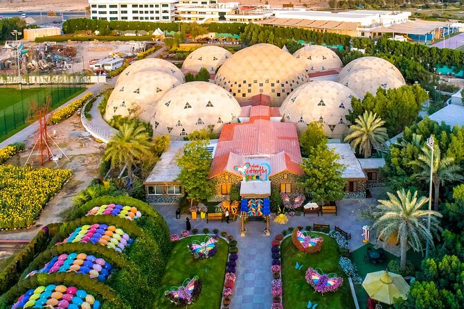 Dubai Butterfly Garden : Skip The Line / Mobile Voucher Accepted