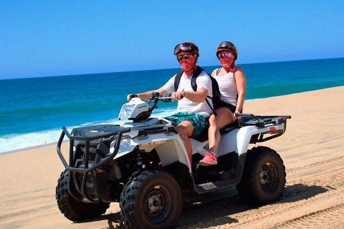 Los Cabos beach and desert ATV adventure